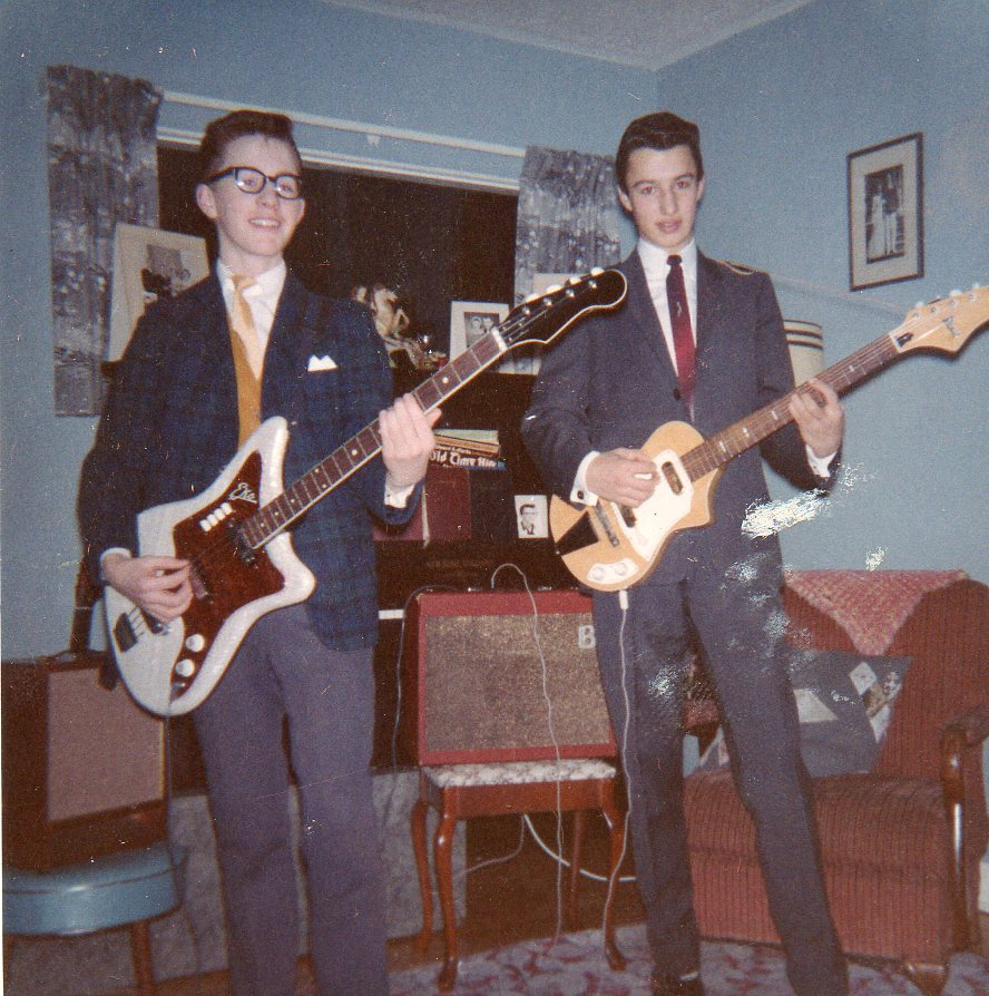 david and ritchie in 1963